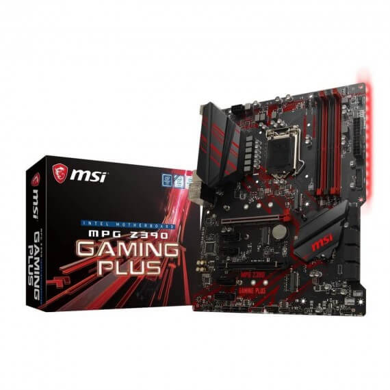 Carte Mère Z390 Gaming Plus Socket 1151