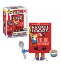 Figurine Kelloggs - Froot Loops Cereal Box Pop 10cm